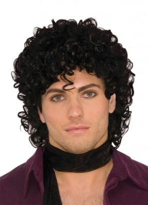 Rock-Royalty Black Wig