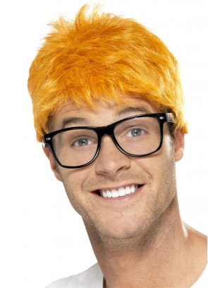 90s TV Host Wig and Glasses (Chris Evans)