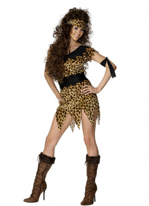 Cavewoman (Leopard Print) Costume