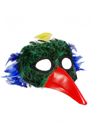 Bird Eye Mask Green