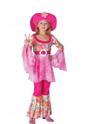 Hippy Diva (Girls) Costume