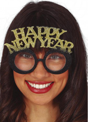 Happy New Year Glasses