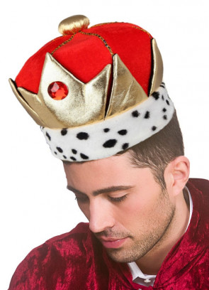 Plush Regal Crown