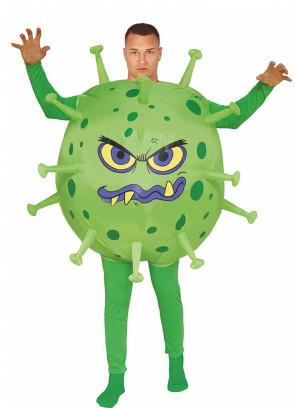 COVID Virus Inflatable Adult Costume