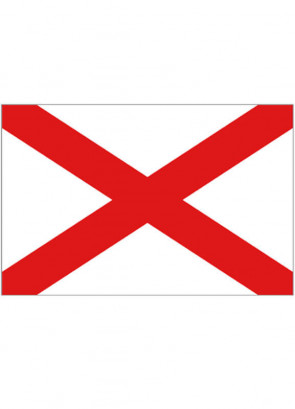 Alabama Flag (United States) 5x3