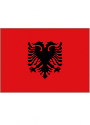 Albania Flag 5x3