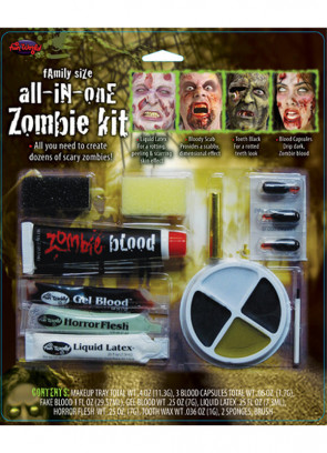 All in One Zombie Make-up Kit