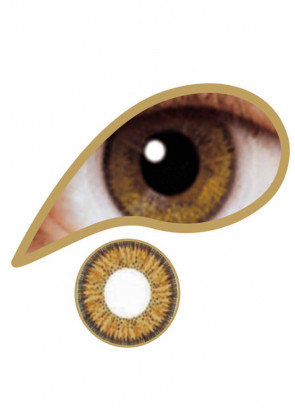 Brown Coloured Contact Lenses - One Day Wear