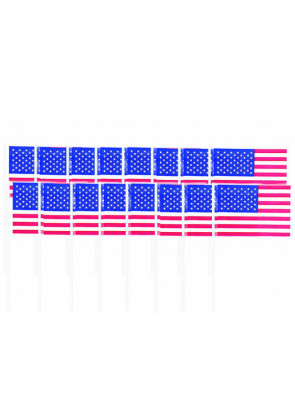 American USA Flag Sandwich Picks (120pcs)
