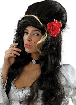 Amy Winehouse (Flower) Wig