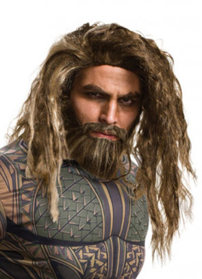 Aquaman – DC – Justice League – Brown Wig and Beard