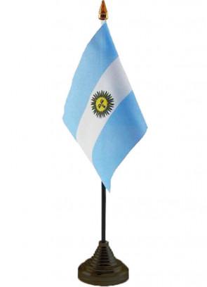 """Argentina Table Flag 6"""" x 4"""""""
