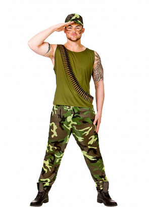 Army Guy Costume
