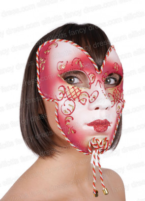Aryana Full Face Mask (Red)
