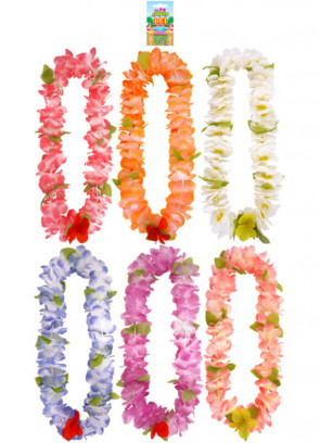 Hawaiian Flower Lei Assorted