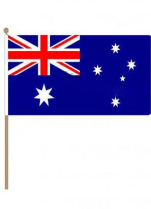 """Australia Hand Flag 18"""" x 12"""""""