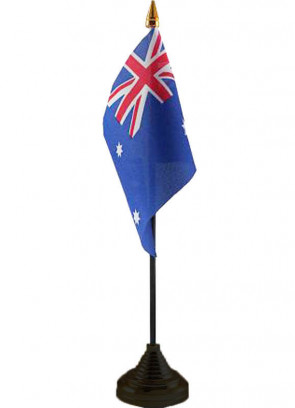 "Australia Table Flag 6"" x 4"""