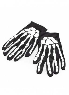Skeleton Gloves – Adult