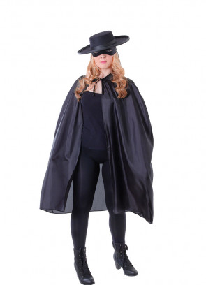 Anarchist Bandit Cape with Collar