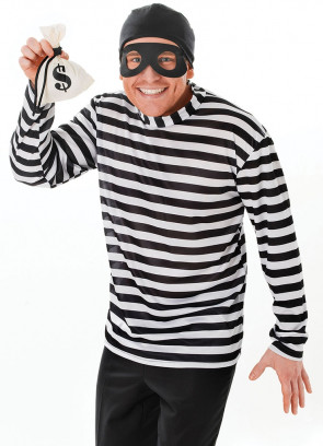 Burglar/Bank Robber Costume Kit