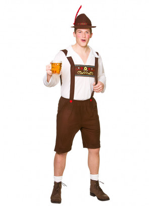Bavarian Beer Guy - Brown