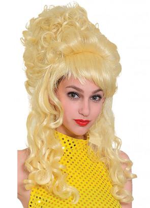 Beehive Panto Wig - Blonde