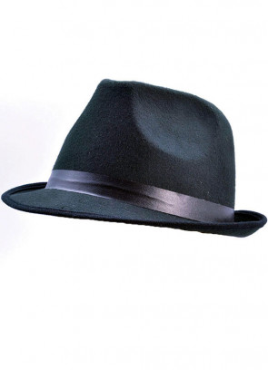 The Blues Delux Pork Pie Hat