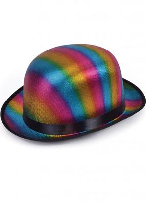 Bowler Hat - Rainbow
