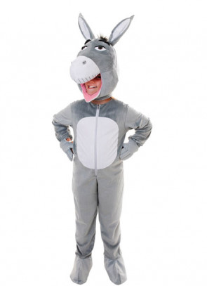 Donkey Big-Head Costume