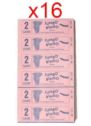 BINGO: 2 Games – 1 Carton – 16 Bundles