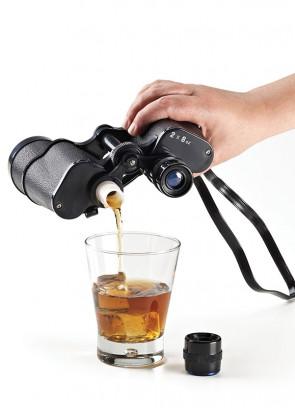 Hidden Drinks Flask - Disguised as a Binocular Set