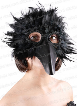 Bird Eye Mask Black