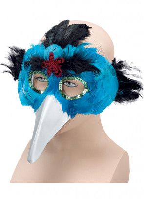 Bird Eye Mask Turquoise