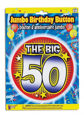 Birthday Badge – The Big 50!