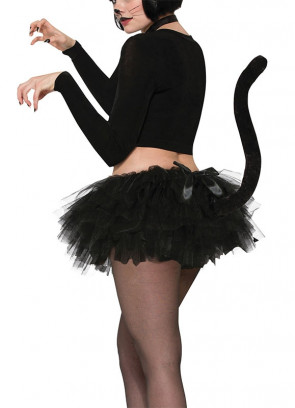 Black Cat Tutu with Tail