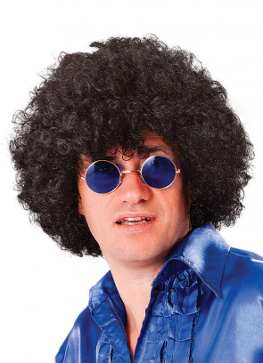 Black Clown Afro Pop Wig