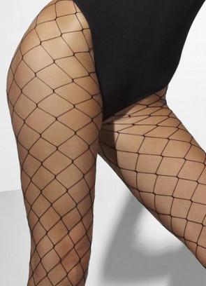 Black Diamond Fishnet Tights - Dress Size 6-18