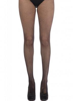 Black Fishnet Tights - Dress Size 6-14