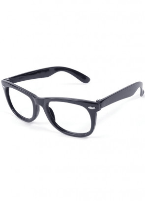 Glasses - Black Frame