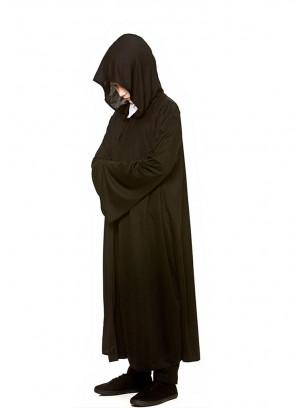 Magical-Lord Black Hooded Cloak - Kids