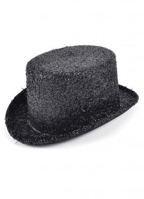 Top Hat Black Tinsel