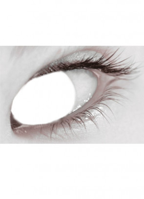 Blind (White) Contact Lenses - One Day Wear