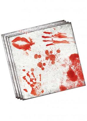 Blood Bath Paper Napkins 16cm - 20pk