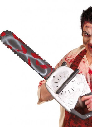 Bloody Chainsaw (Large 70cm Long)