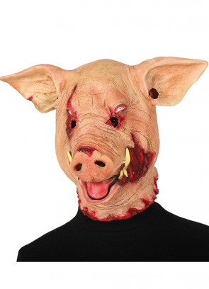 Bloody Horror Pig Mask