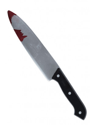 Bloody Kitchen Knife 30cm