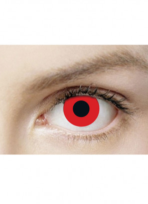 Bloody Red Contact Lenses - 30 Day Wear
