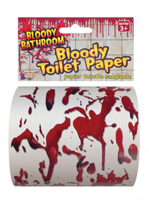 Bloody Toilet Paper
