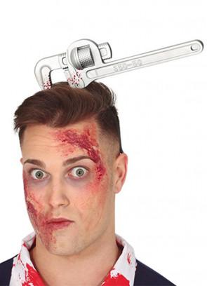 Bloody Wrench through Head 24cm