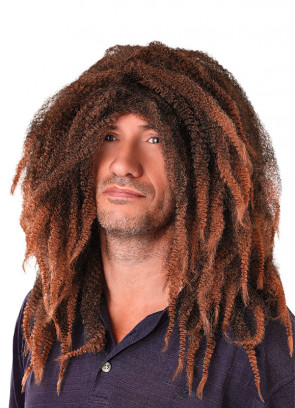 Bob Marley - Brown Rasta Dreadlocks Wig